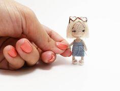 Amigurumi dolls and patterns ( Crochet Doll Tutorial, Crochet Doll Pattern, Diy Crochet, Crochet Baby, Crochet Patterns, Yarn Dolls, Knitted Dolls, Crochet Dolls, Crochet Animal Amigurumi