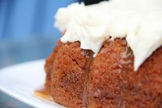 caramel apple cider bundt cake!  Links to a few other recipes (meatballs, corn and bacon pasta, Mac and trees...)