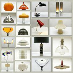 Mid-century modern lighting Mid Century Modern Lighting, Mid Century Modern Design, Mid Century Modern Furniture, Midcentury Modern, Mid Century Decor, Mid Century Style, Vintage Lamps, Vintage Lighting, Atomic Time