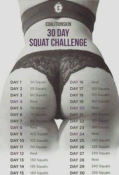 30 Day squat challenge!