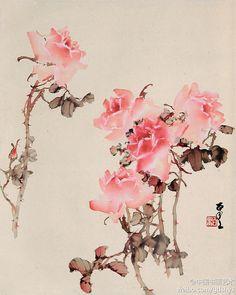 """Fleurs"" 何百里《花卉 (by Lac Thanh ?)"