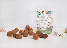 Sweet Virtues' Healthy Chocolate Snacks Are Loaded with Superfoods #dessert trendhunter.com