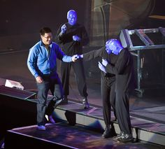 Blue Man Group on Stage #BlueManGroup #ClassicCenterTheatre #Athens #AskaTicket
