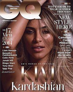PHOTOS: Kim Kardashian Strips Down For British 'GQ' | KISS 95.7