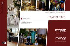 Criação de anúncio da coleção Madeleine - empresas Maison du Banho e Marche Objetos.