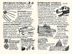 Washington DC Sketchnotes 09-10 by Mike Rohde, via Flickr