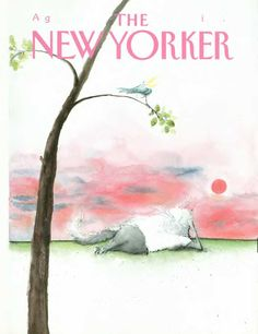 The New Yorker - Monday, August 1988 - Issue # 3311 - Vol. 64 - N° 24 - Cover by Ronald Searle The New Yorker, New Yorker Covers, Ronald Searle, Magazine Art, Magazine Covers, English Artists, Gifts For My Boyfriend, Arte Popular, Cat Drawing