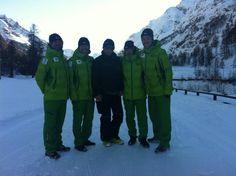 Squadra giapponese di sci nordico si allena a Rhemes-Notre-Dame