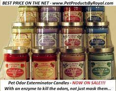 Pet Odor Eliminating Candles $6.99
