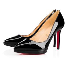 17a862516993 Pigalle Plato black patent leather 100mm- size 37.5 http   us. christianlouboutin