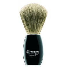 Blaireau DOVO acrylique noire   Blaireau de Rasage DOVO en purs poils de blaireau , manche en acrylique noire.