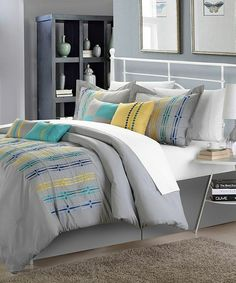 Look at this Turquoise Swimmy Comforter Set on #zulily today!