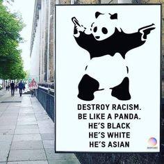 banksy @thereaIbanksy  Jun 11  More   Be like panda