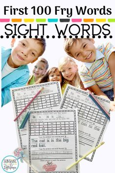 Sight words are such an important reading foundational skill. Sight Word Recognition supports Fluency. Fluency supports comprehension so learning sight words is a win win situation AND SUMMER is a great time to work on sight words especially with the year we have had..so...why not take a look at these tried and true #sightwordworksheets that are proven to jump start reading?  #sightwordrecognition #sightwordideas #sightwords #frywords  #readingfoundations