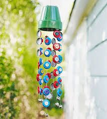summer windchimes w buttons
