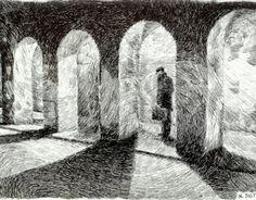 Consultez ce projet @Behance: \u201cFingerprint - Arcades\u201d https://www.behance.net/gallery/6238527/Fingerprint-Arcades
