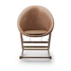 Rocking Nest Chair – AB001 designed by Anker Bak - Carl Hansen & Søn