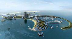 El Real Madrid 'hará fútbol' en una isla artificial del desierto - Real Madrid Resort Island
