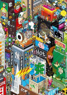Pixel art - landscape