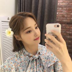 Selfies, Close Up, Soyeon, Ulzzang Girl, Kpop Girls, Anime Girls, Girl Group, Short Hair Styles, Hair Beauty