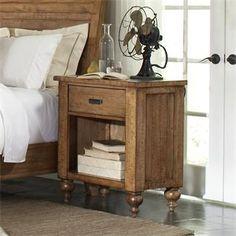 Summerhill One Drawer Nightstand I Riverside Furniture