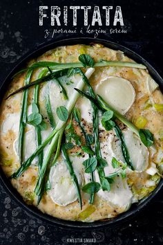 Frittata with Leeks