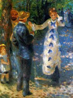 The Swing (La Balanceire), 1876 Pierre Auguste Renoir