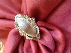 Купить Sofi. Серебряное кольцо с агатом в горячей эмали - комбинированный, оригинальный подарок, восточный орнамент