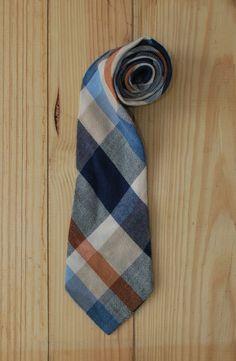 vintage plaid tie by LostPropertyVintage, £10.00