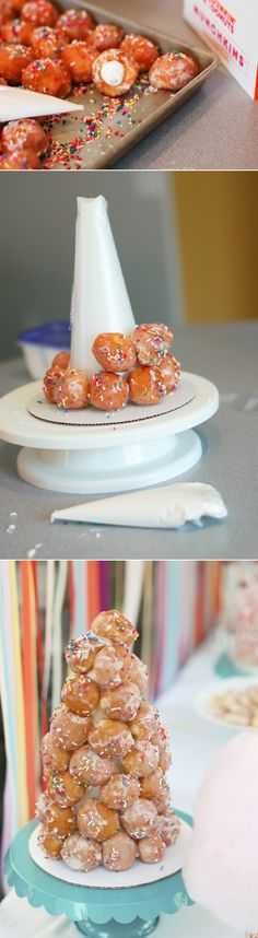 Lots of really cute and easy Christmas breakfast ideas!! This would be really cute and festive for a holiday party.