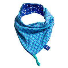 Snood bleu motifs losanges pour enfants de 2 à 5 ans, €25.99