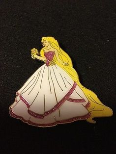 Disney Pin Fantasy LE 50 Princess RAPUNZEL Tangled Wedding Designer Rare in Collectibles, Disneyana, Contemporary (1968-Now) | eBay