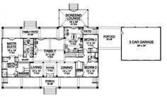 Williamsburg IV House Plan - First Floor