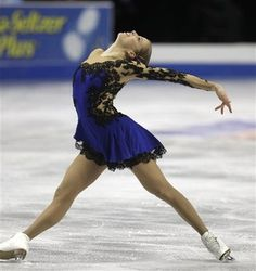 Italy's Carolina Kostner- 5-time European Champion, 2014 Olympic bronze medalist and 6-time world medalist, including the 2012 World title.