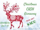 $300 Amazon Gift Card or Cash Giveaway  Open to: United States Canada Other Location Ending on: 12/15/2016 Enter for a chance to win $300 Christmas Cash either an Amazon Gift card or code or Paypal Cash. Enter this Giveaway at My Dairy Free Gluten Free Life  Enter the $300 Amazon Gift Card or Cash Giveaway on Giveaway Promote.