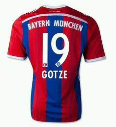 BAYERN MUNICH 14/15 HOME SHIRT MENS SIZE L GOTZE RRP £69.00 BUY NOW BID NOW ! in Sports Memorabilia, Football Shirts, Overseas Clubs | eBay