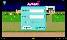 Login game avatar hay
