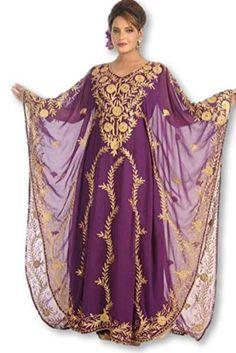Women Kaftan Farasha Long Maxi Dress Long Sleeves Ethnic, Bridal, Evening, Party, Dress Free Size WUBU Kaftan Designs, White Kaftan, Abaya Dubai, Long Kaftan, Fashion Looks, Long Sleeve, Dresses, Women, Party