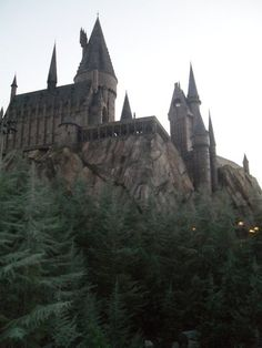 Hogwarts at Harry Potter world in Universal