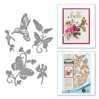 Shapeabilities Stacey Caron Botanical Bliss Botanical Flutters Etched Dies (S4-640)