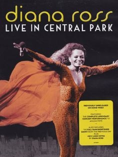 Diana Ross 'Live In Central Park' [DVD]
