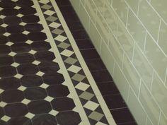 tessellated tile floor for the front verandah Bathroom Floor Tiles, Tile Floor, Hall Tiles, Porch Tile, Front Verandah, Path Design, Home Goods Decor, Home Decor Inspiration, Home Art