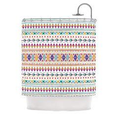 Native Fiesta Shower Curtain