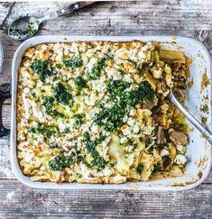 Traditionelle Lasagne orientalisch angehaucht – mit Lammhackfleisch,