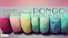 MiniFactory: Ricetta Pongo/ Didò senza cremor tartaro play dough home made