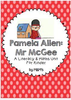 "Pamela Allen ""Mr McGee"" Book Study"