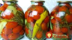 Ruské nakladané rajčiny s cesnakom, bez zavárania: Tento rok robím zásobu aspoň do zimy – famózna chuť! Preserves, Stuffed Peppers, Vegetables, Recipes, Food, Youtube, Canning, Preserve, Stuffed Pepper