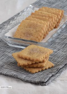 Quick cinnamon cookies without egg. Mouse Recipes, Bakery Recipes, Sweets Recipes, Cookie Recipes, Snack Recipes, Gooey Cookies, Sweet Cookies, No Egg Desserts, Cinnamon Cookies