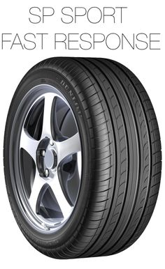 The SP Sport Fast Response is a premium tyre designed with Dunlop Touch Technology® to deliver subtle and precise road feedback for improved control. This acceleration of road feedback means the driver can respond accordingly and experience a more exhilarating drive.