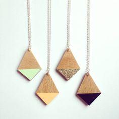 Dipped Diamond Necklace
